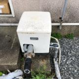 福岡市城南区でアパート用ポンプ交換!経年劣化で誤作動!