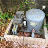筑紫野市で深井戸ポンプ交換!本体水漏れと誤作動!