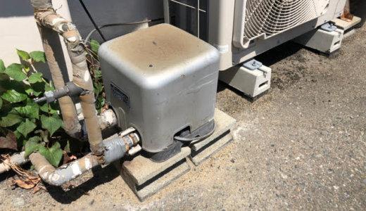 福岡市早良区で給湯用ポンプの交換!経年劣化で誤作動だらけ・・・